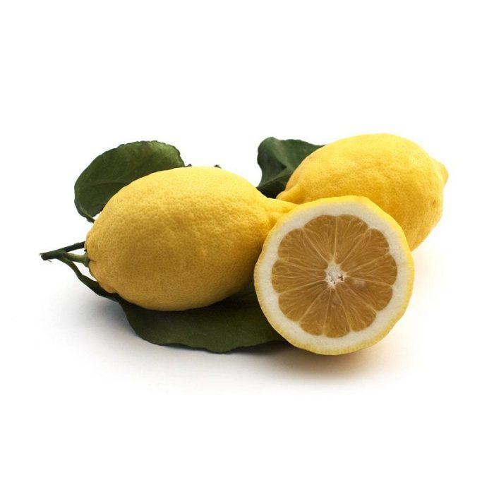 Lemons Leafy Unwaxed