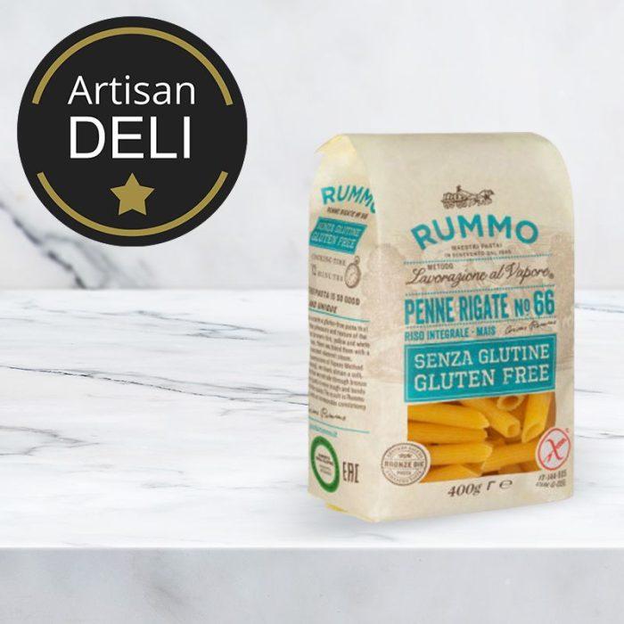 gluten_free_penne_rigate_pasta_rummo_400gr_the_artisan_delicatessan