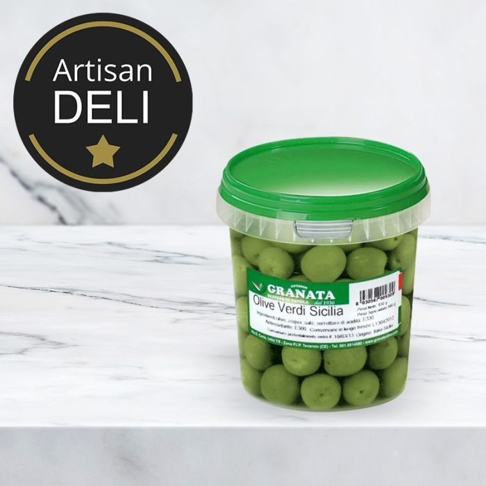 olives_italian_green_nocellara_350gr_the_artisan_delicatessan