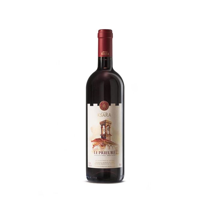 château_ksara_le_prieuré_rouge_the_artisan_winery