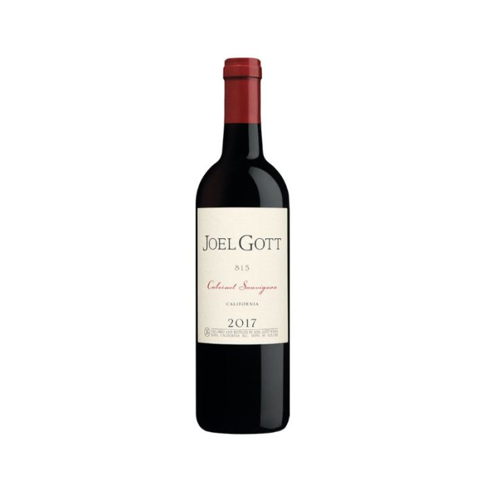 joel_gott_815_cabernet_sauvignon_the_artisan_winery