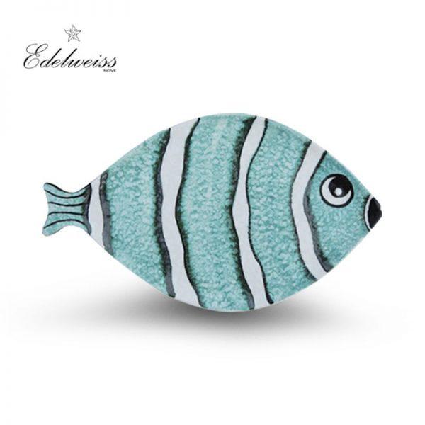 ceramiche_edelweiss_nemo_azzuro_blue_fish_oval_tray_the_artisan_food_company