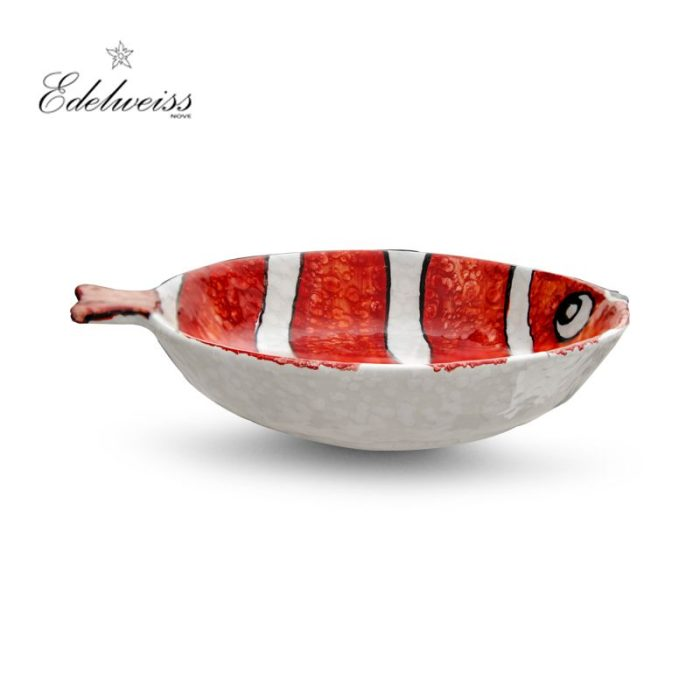 ceramiche_edelweiss_nemo_rosso_red_fish_round_bowl_set_of_6_the_artisan_food_company