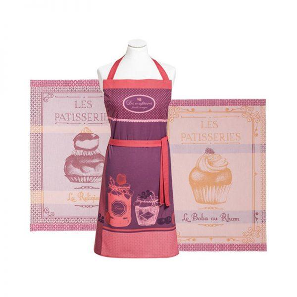 coucke_les_patisseries_apron_&_tea_towel_gift_set_the_artisan_food_company