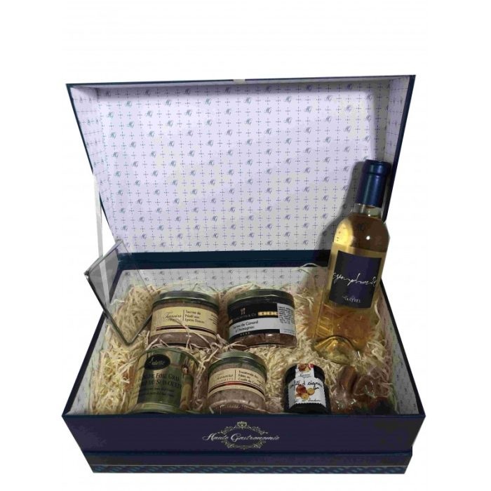 the_french_basket_festive_'saveurs_et_délices'_box_the_artisan_food_company