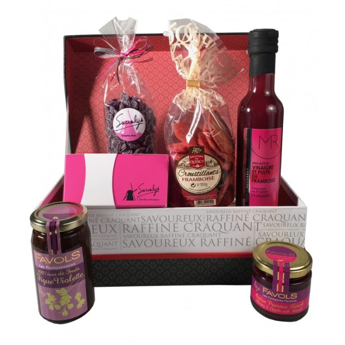 the_french_basket_'la_vie_en_rose'_gourmet_box_the_artisan_food_company