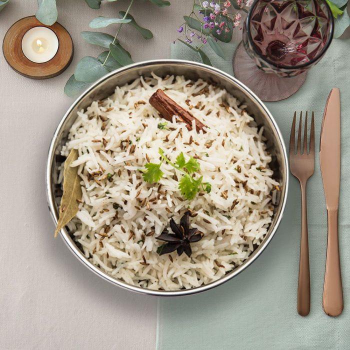 Jeera Pulao Rice For 4