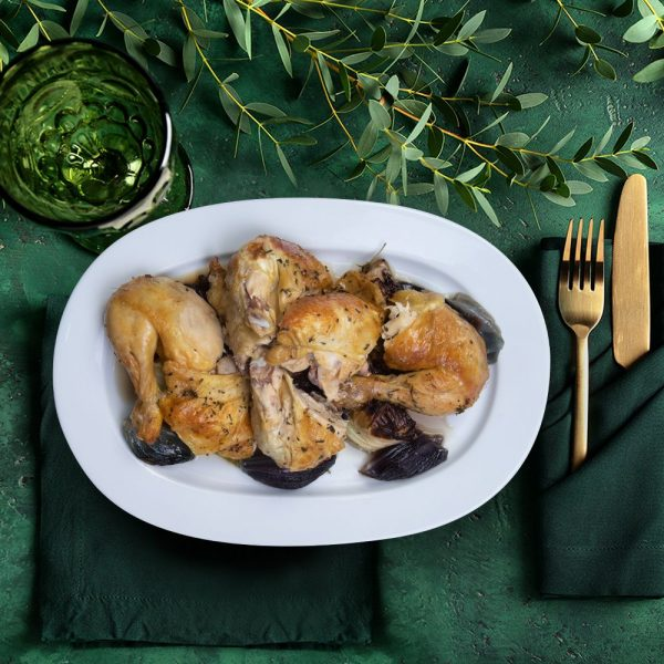 corn_fed_whole_roasted_chicken_serving_plate_the_artisan_food_company