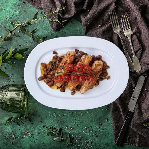monk_fosh_with_cherry_tomatoes_&_chorizo_serving_plate_the_artisan_food_company