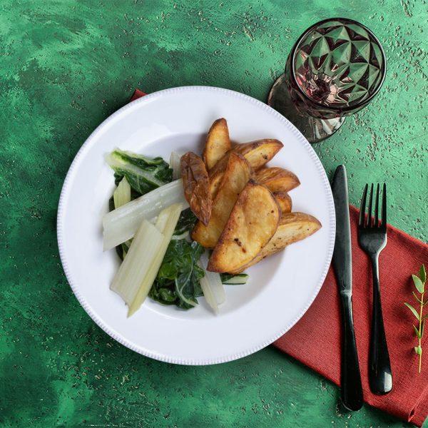 potato_wedges_&_swiss_chard_weekly_recipe_box_the_artisan_food_company
