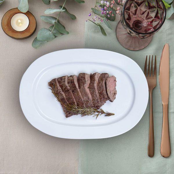 serving_plate_bavette_steak_the_artisan_food_company