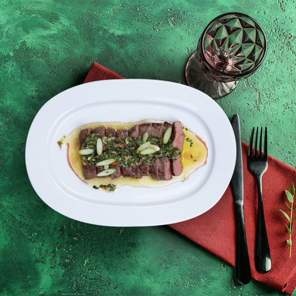 serving_plate_flat_iron_steak_weekly_recipe_box_the_artisan_food_company