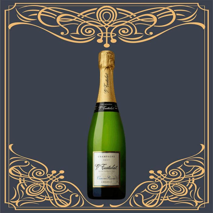 champagne_testulat_carte_d'or_brut_blanc_de_noirs_in_a_wooden_gift_box