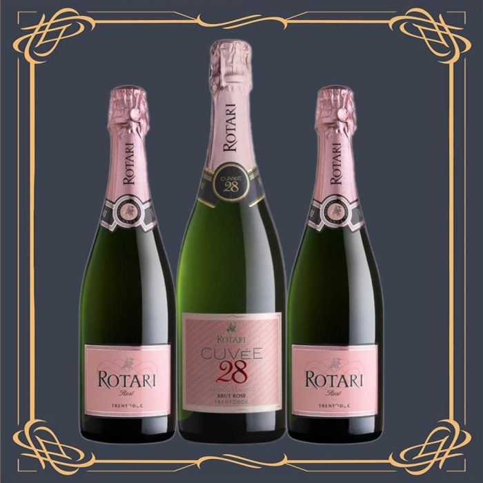 mezzacorona_rotari_brut_rosé_in_a_wooden_gifts_boxes